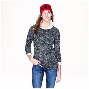 J. Crew • jasper knit tunic in marked gray